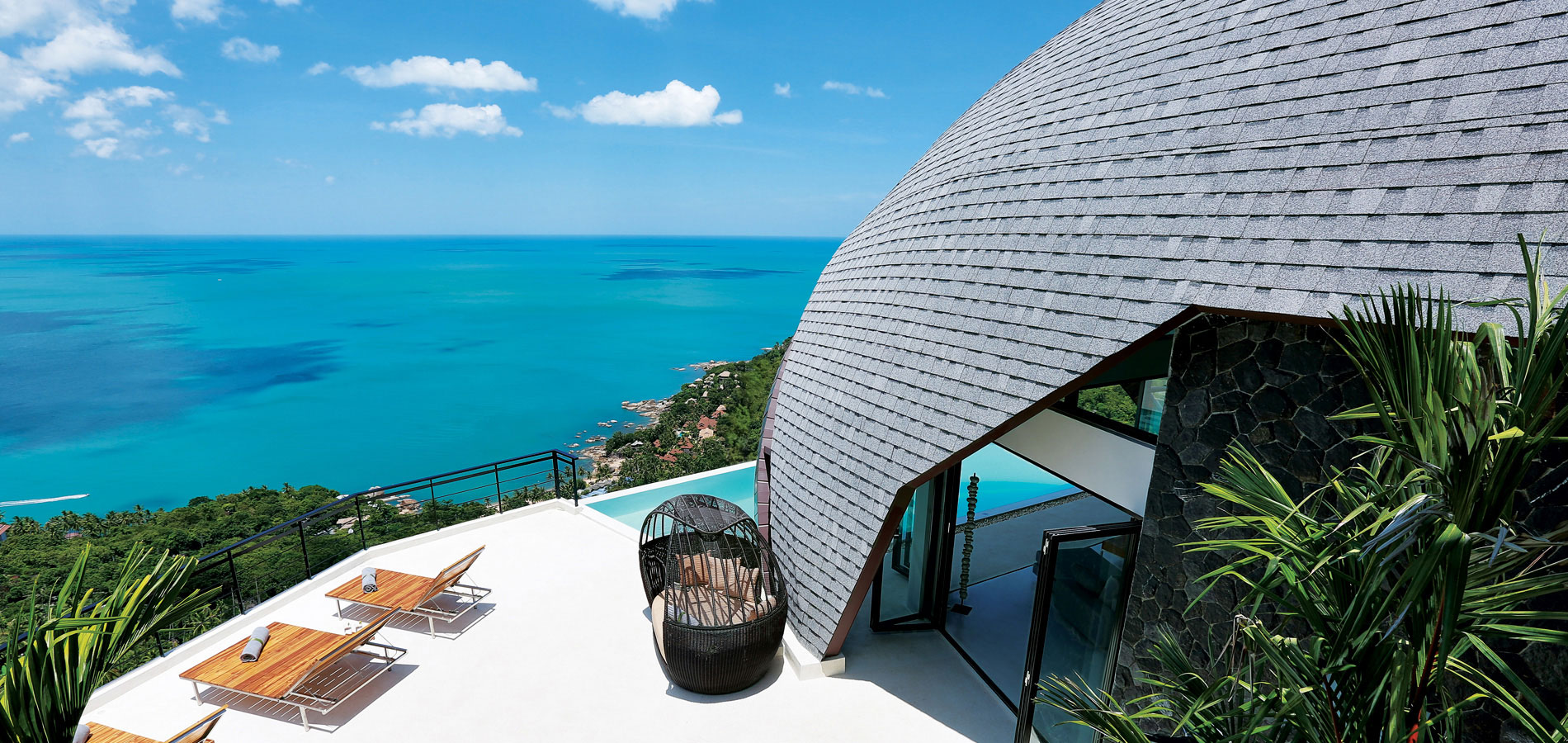 Samui Villa with Seaview