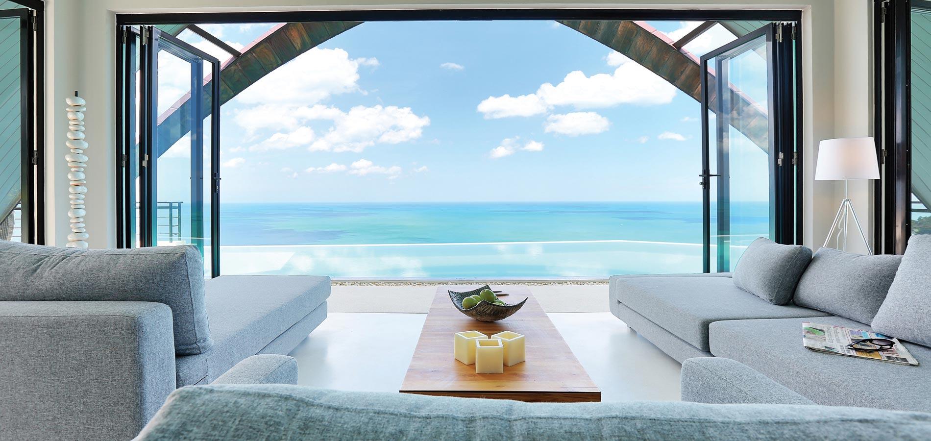 Villa with panoramic seaview